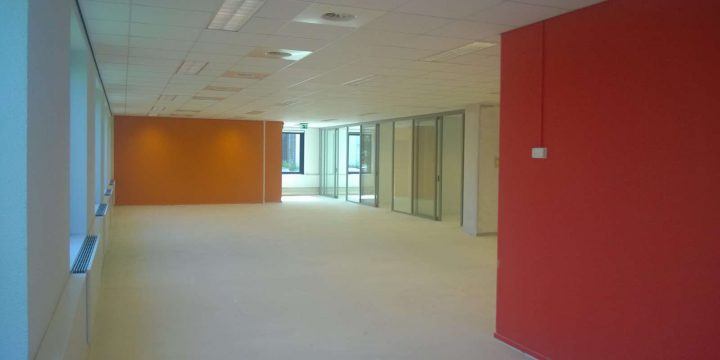 V-nom Brainpark – Rotterdam <p>Systeemplafonds, metal-stud- en glaswanden, vloer egalisatie